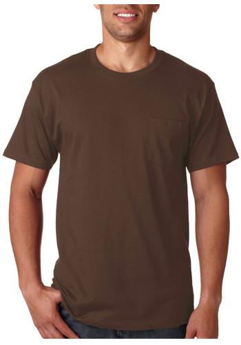 Tagless T-shirts with Pocket