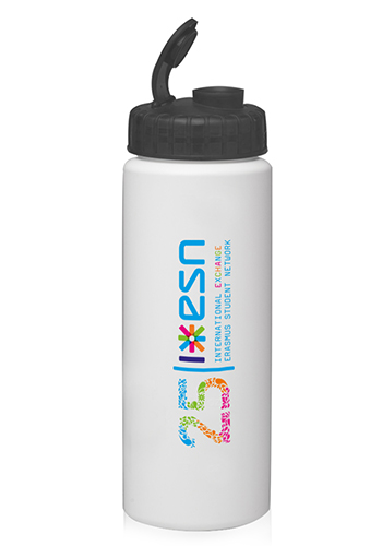Water Bottles with Sipper Lids