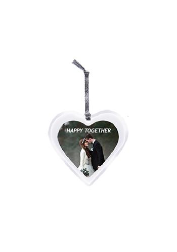 Heart Acrylic Ornaments   IL1794HEART