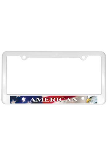 Heay-duty Plastic License Plate Frames   AK8040004