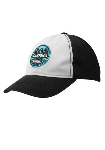 Two Tone Cotton Baseball Caps