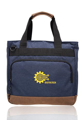 Lyon Two-Tone Polyester Messenger Bags | MB032