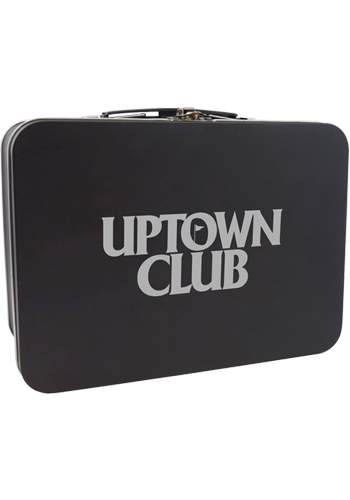 Matte Black Retro Lunch Box | TKLB401