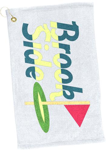 Microfiber Scrubber Golf Towels  TEGP1204CL