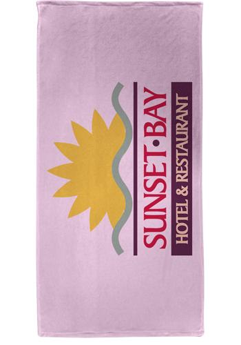 Microfiber Velour Beach Towels | TEBP1515
