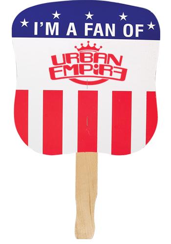 Patriotic Hand Fans - Political Party   AK33600