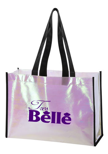Pearl Laminated Non-Woven Tote Bag | X20414