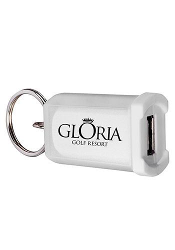 Lightweight Mini Car Chargers with Key Ring | PL1104