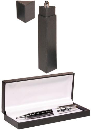 Grid Metal Pens Gift Set | PGSMP258
