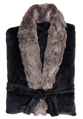 Plush Robes with Fur | APRFUR