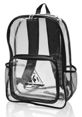 Clear Plastic Backpacks