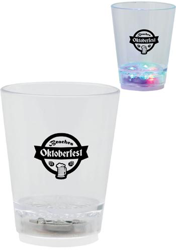 Light Up Plastic Shot Glasses