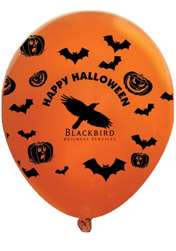 Happy Halloween Wrap Latex Balloons | GB11WRPhappyhalloween