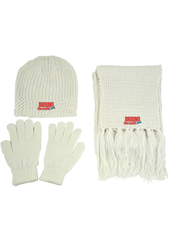 Recycled Acrylic Knitted Winter Set