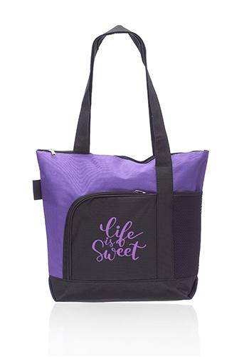 Rosella Tote Bags with Mesh Pocket   TOT251