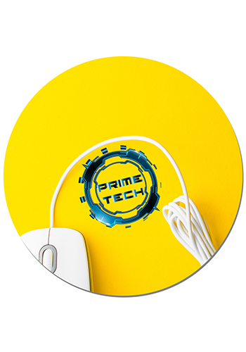 Round Full Color Mouse Pads 1/8 | MPR8