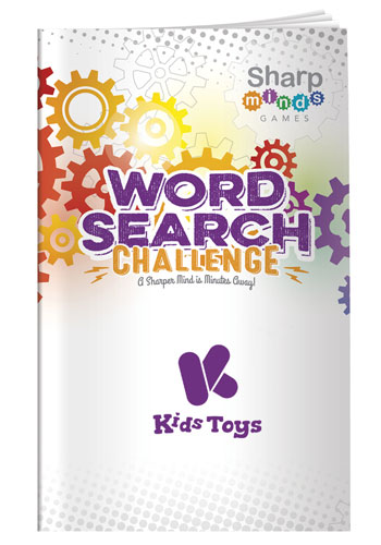 Sharp Minds Games - Word Searches Challenge   X30289