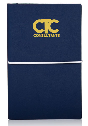 Softcover Journals with Tube Closing Band | NOT34