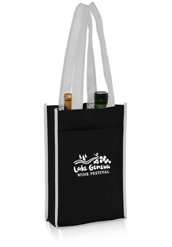Two Bottle Non-Woven Wine Bags | TOT120