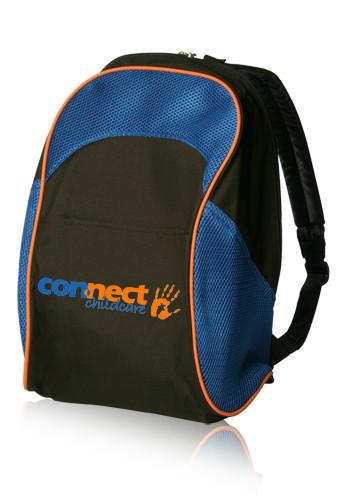 Two Tone School Backpacks   BPK01