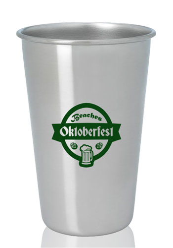16 oz. Stainless Pint Glasses | X30097
