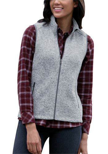 Personalized Womens Summit Sweater-Fleece Vests