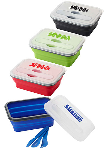 Bulk Silicone Collapse-it™ Lunch Containers