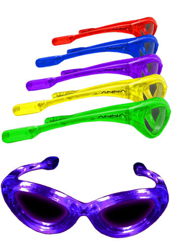 Light Up Flashing LED Sunglasses