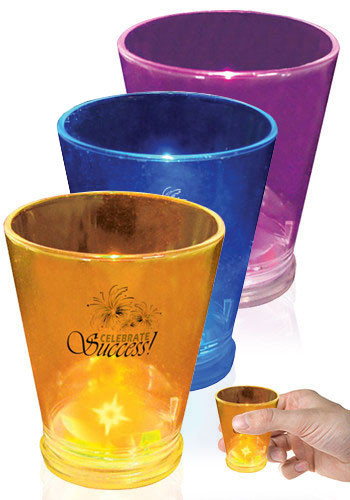 Blinking Shot Glasses