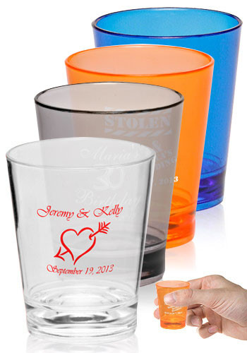 Plastic Shot Glasses