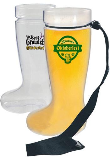 Plastic German Boot Beer Mugs