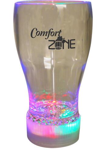 Wholesale 10 oz Flashing Glass