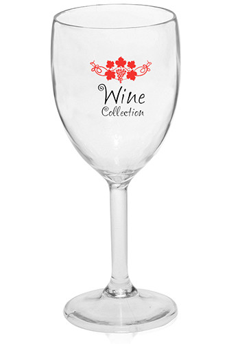 Plastic White Wine Glasses