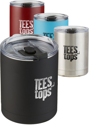 10 Oz Stainless Steel Low Ball Tumblers |EM4784