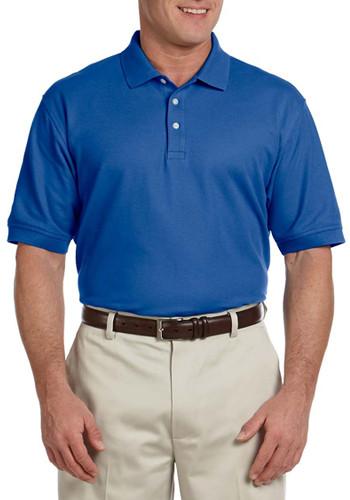 Devon & Jones Men's Short-Sleeve Polo Shirts | D100