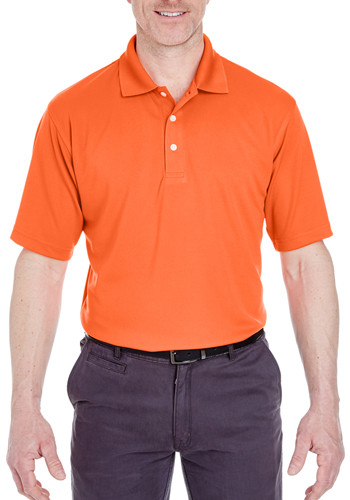 UltraClub Men's Cool & Dry Stain-Release Polo Shirts | 8445
