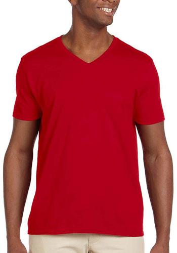 Gildan Adult Softstyle V-Neck T-shirts | G64V