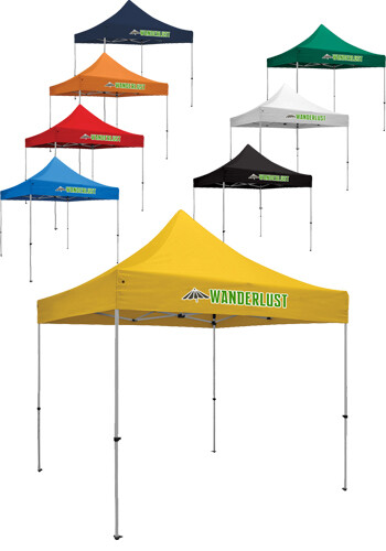 Personalized 10W X 10H in. 1 Location Full Color Premium Event Tent Kits