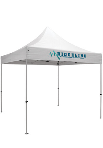 Custom 10W X 10H in. Dye-Sublimated Premium Event Tent Kits