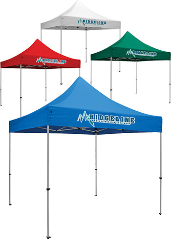 10W X 10H in. Full Color Deluxe Event Tent Kits   SHD240625