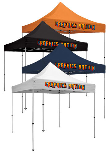 Customized 10W X 10H in. Standard Event Tent Kits