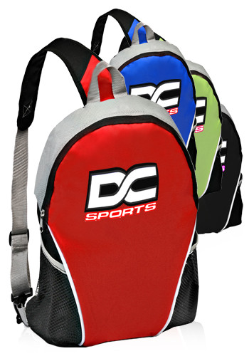Personalized Pocket Sling Backpacks