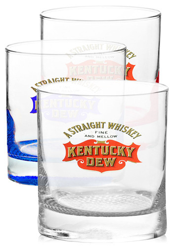 Custom 11 oz. Libbey Presidential Finedge Whiskey Glasses