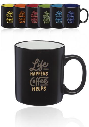 Matte Two-Tone Coffee Mugs