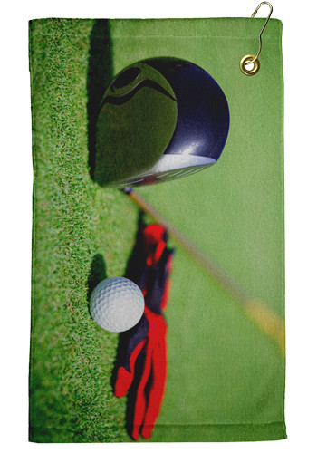 11 x 18 Microfiber Velour Golf Towels | TEEP1509CL