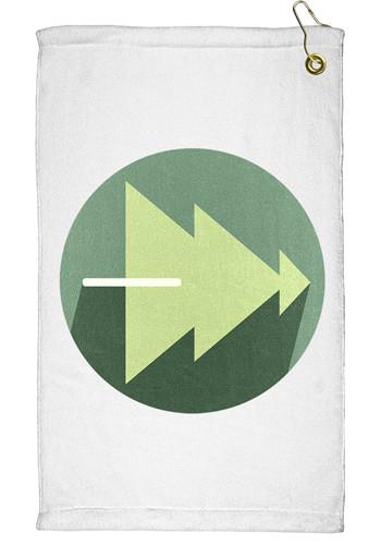 11 x 18 Travelers Microfiber Terry Golf Towels | TEEP3031CL