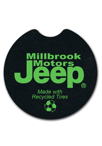 Promotional 2.625 inch Tire Car Coasters