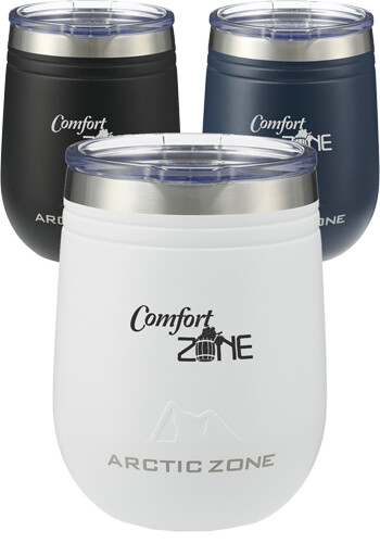 Bulk 12 oz Arctic Zone Titan Thermal HP Wine Cup