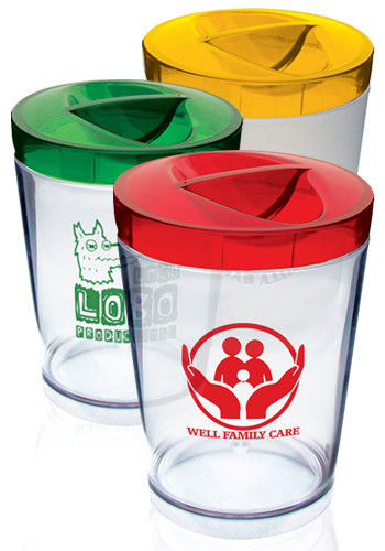 12 oz. Cheap Plastic Candy Jars | HWCJ12