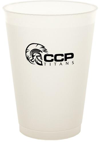 Wholesale 12 oz. Frost Flex Plastic Cups